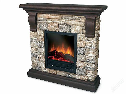камин - приятно сидеть зимой или осенью у открытого огня